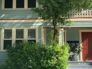 Private apartment in duplex in historic uptown